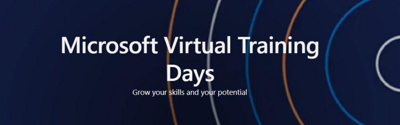 Microsoft días de entrenamiento virtual 2021